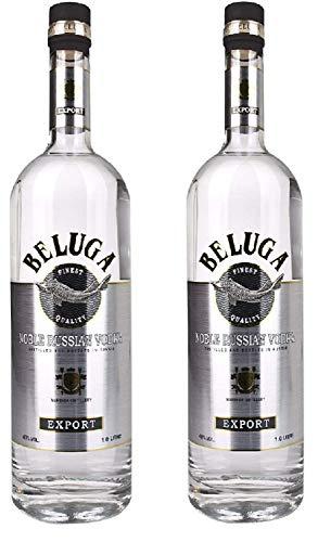 Beluga Export Noble Russian Vodka 40% Vol. 1 l X 2