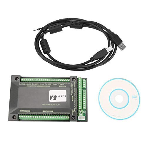 Nobrand MACH3 6-axis Interface Card 200 kHz NVUM CNC Controller Card Motion Control Card Connection Card USB Interface Ethernet Interface Card Card
