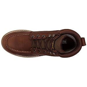 Wolverine Mens Waterproof Wedge Boot (7.5 2E US, Brown)