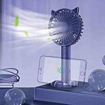 HAIMEI Household Appliances Electric Fans N10 Multi-Function Handheld Desktop Holder Electric Fan, with 3 Speed Control Co...