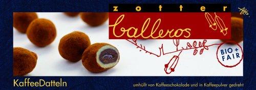 Zotter Balleros Kaffee-Datteln, 1er Pack (1 x 100 g) - Bio