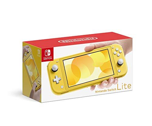 Nintendo Switch Lite (Yellow) Japanese Version Region Free Menu Multi Language