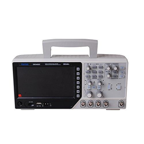 Hantek DSO4202C Oscilloscopio a Memoria Digitale 200MHz, Funzione Forma d onda Arbitraria