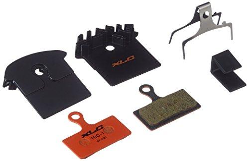 XLC, Pasticche per freni a disco Pro BP-H25 Unisex-Adult, Arancione/nero, One Size