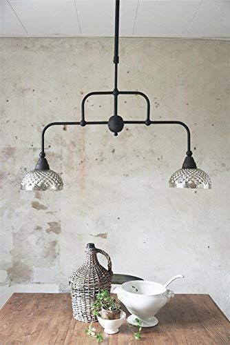 Jeanne d'Arc Living Vintage hanglamp, dubbele lamp, kandelaar, lamp