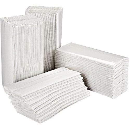 Essentials HT3000 C-Piega Asciugamano, Bianco, Confezione da 2400