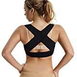 Joyshaper Chest Brace Up for Women Posture Corrector Shapewear Top Wireless Back Support Bra Vest