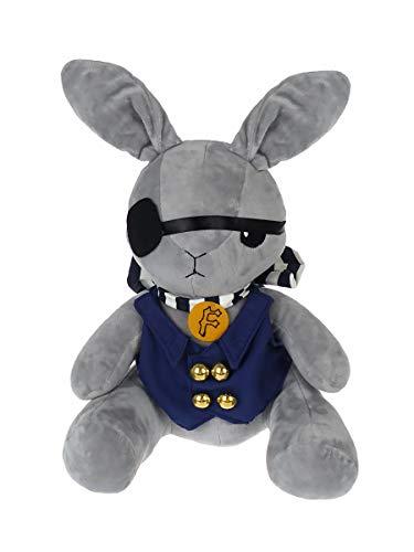 Black Butler Plüsch Hase von Ciel Phantomhive | Kuroshitsuji Plüschtier für Cosplay | 24cm