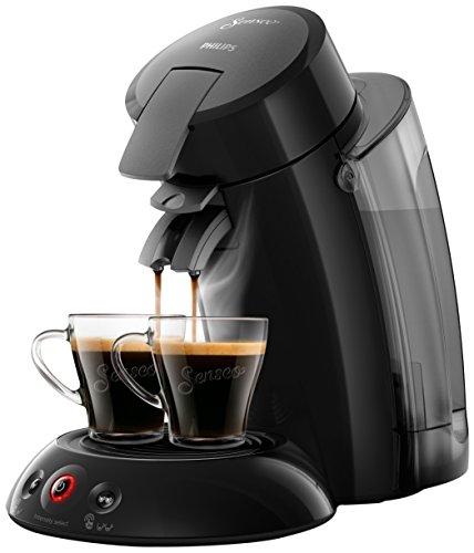 Senseo HD6555/21 - Cafetera (Independiente, Máquina de café en cápsulas, 1,2 L, Dosis de café, 1450 W, Negro)