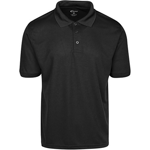 Mens Black Drifit Polo Shirt XXXL