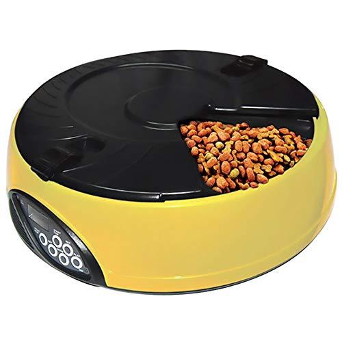 Warm Home 6 automatische voeding voor huisdieren met kleine capaciteit lunchbox automatische stroomvoorziening voor dieren en katten van Time Bello