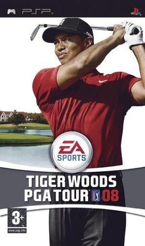 Electronic Arts Tiger Woods PGA Tour 08, PSP