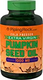 200 x 1000mg PUMPKIN SEED OIL Softgel Capsules - Quick Release - 1st CLASS P&P from PIPING ROCK