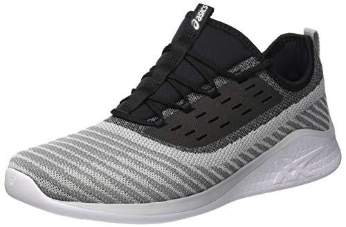 ASICS Men's Fuzetora Twist Stone Grey/Black Running Shoes- 8 UK/India (42.5 EU) (1021A005.021)