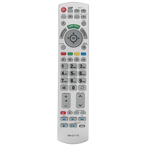 VINABTY RMD1170 RM-D1170 Ersatz Fernbedienung für Panasonic LED LCD Bravia Plasma TV N2QAYB000672 N2QAYB000504 N2QAYB000673 N2QAYB000752 N2QAYB000715 N2QAYB000490 N2QAYB000572 Remote Controller
