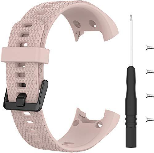 Shieranlee Reemplazo para vivosmart HR Correa,Correa de Reloj Mujeres Hombres Correa de Reloj Inteligente Garmin vivosmart HR Sports GPS Smart Watch with Adapter Tools
