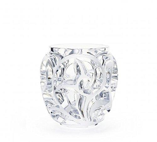 Lalique Tourbillions Vase, transparent