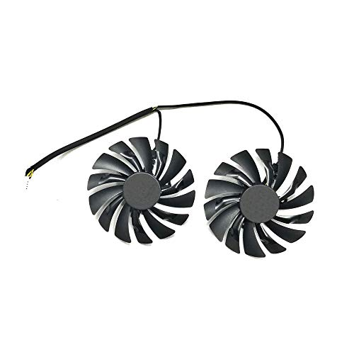 ZkeeShop DC 12V 0.4A 95mm 4Pin Graphics Card Fan Compatible for PLD10010S12HH GTX960 GTX950 R9 380 R9 390/390X Graphics Card Cooling Fan