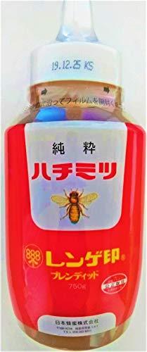 日本蜂蜜 レンゲ印 純粋はちみつ 750g [2231]