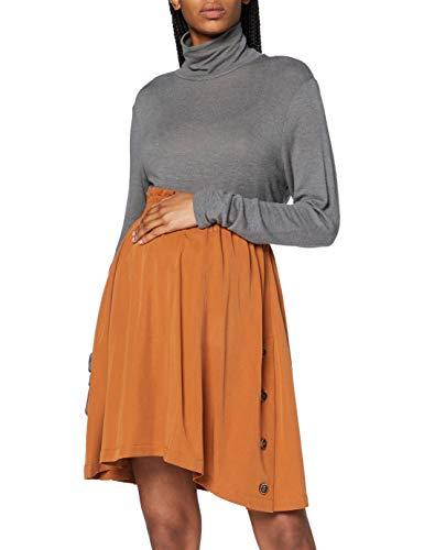 ESPRIT Maternity Damen Skirt WVN UTB midi Rock, Rust-251, 38