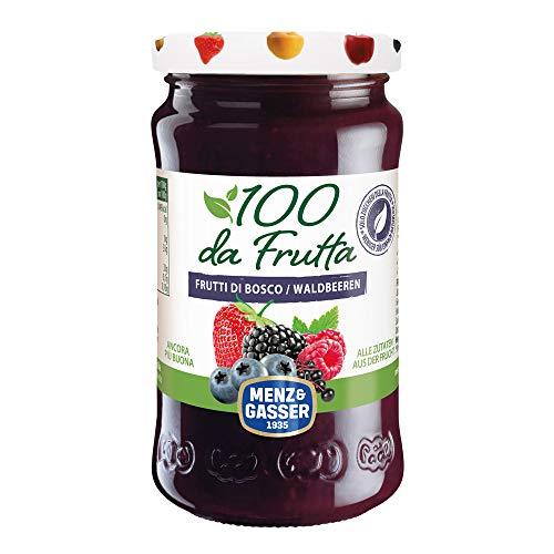 Menz & Gasser Composta 100Dafrutta Frutti Di Bosco, 100% Frutta, 1 Vaso X 240G - 240 gr