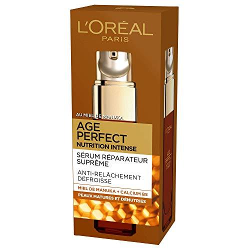 L'Oréal Paris - Age Perfect - Nutrition Intense - Sérum Réparateur - Anti-Relâchement & Nutrition - Peaux Matures - 30 mL