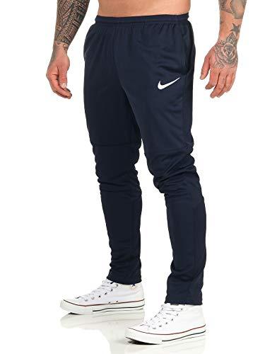 Nike M Nk Dry Park20 Pant KP Pantaloni Sportivi, Uomo, Obsidian/Obsidian/White, L