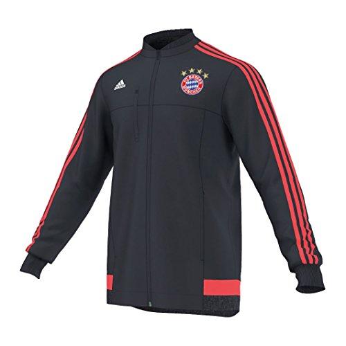 adidas Fußball Jacke Anth Chaqueta, Hombre, Rojo/Blanco/Azul/Dorado, XL