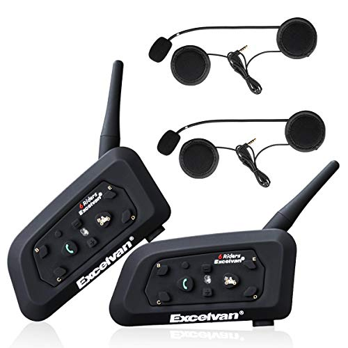 2x Interphone Moto Excelvan V6 Pro