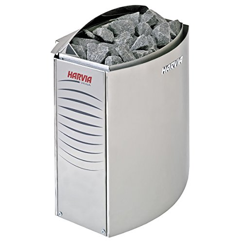 Harvia Vega Saunaofen - BC60E 6,0 kW wird separates Steuergerät benötig, Edelstahl