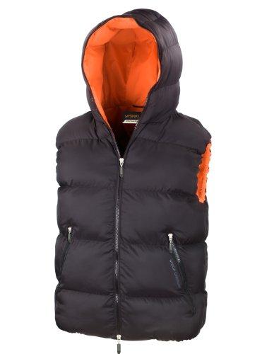 Result Urban R190X Doudoune sans manches - Noir - Noir/orange - XL