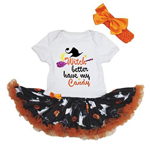 Petitebelle - Robe - Manches Courtes - Bébé (Fille) 0 à 24 Mois Multicolore Multicolore - Orange - L