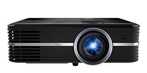 Optoma UHD51ALVe Alexa 4K DLP-projector (UHD, 3200lumen, 500.000:1 contrast, MediaPlayer, PureMotion, HDR, LensShift) zwart