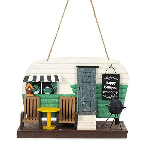 Sunset Vista Wooden Camper Birdhouse