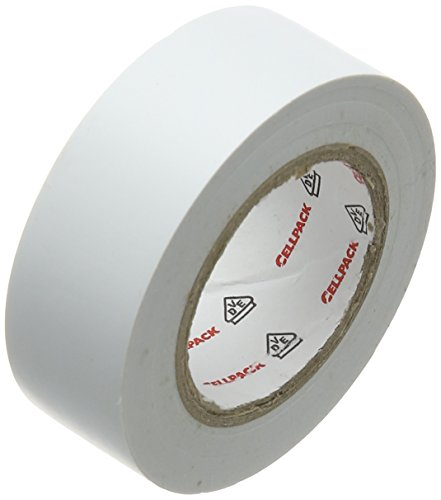 Cellpack 145813 128 0,15–19–10, PVC-Isolierband, weiß