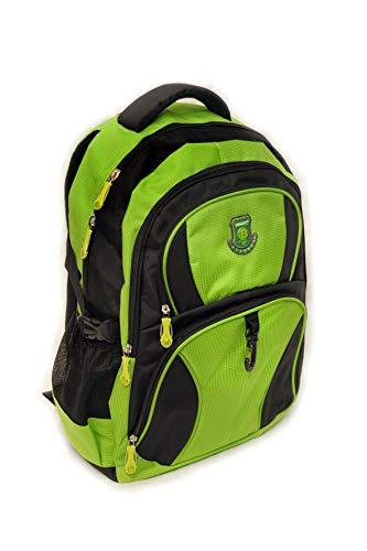 NEW BERRY L756 großer Rucksack für Schule, Arbeit, Freizeit. 40 Liter, 34x50x23 (grün)