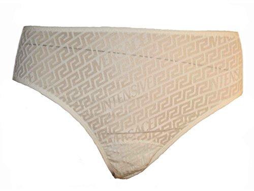 Versace Unterwäsche Slips Weiß oder Schwarz Gr. S-XXL versch. Modelle (S, Beige (M154))