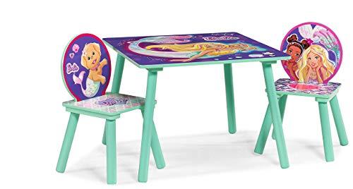 Barbie Mermaid Table & Chairs Set