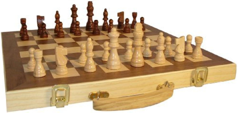 ahorra hasta un 70% 16 Wood Folding Chess Set Set Set by Sunnywood  de moda
