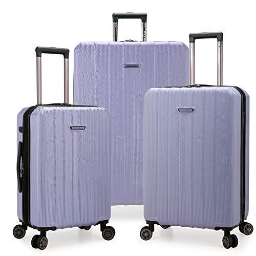Traveler's Choice Dana Point Hardside Expandable Luggage Set, Light Lavender, 3-Piece