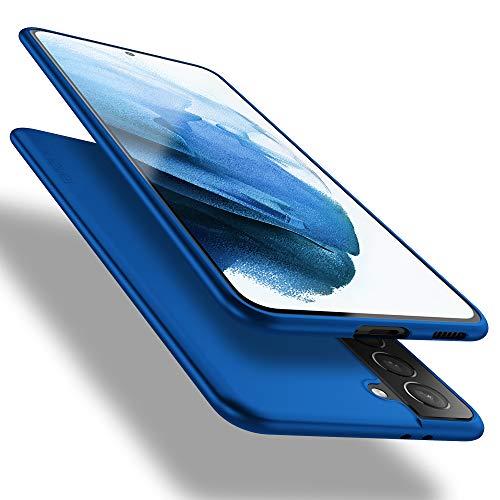 X-level Samsung Galaxy S21 Plus 5G Hülle, [Guardian Serie] Soft Flex TPU Hülle Superdünn Handyhülle Silikon Bumper Cover Schutz Tasche Schale Schutzhülle für Samsung Galaxy S21 Plus 5G - Blau