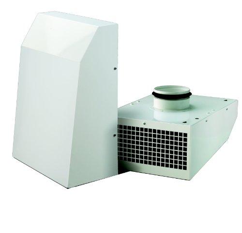 Außenwandventilator 100mm mit Stahl-Gehäuse