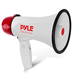 Multipurpose: Has been utilized by indoor & outdoor fire officers, mentors, police, firefighters, cheerleader, schools, sports activities, occasion organizers and director megaphone want to utilize this minimal bullhorn for various reasons Voice ampl...