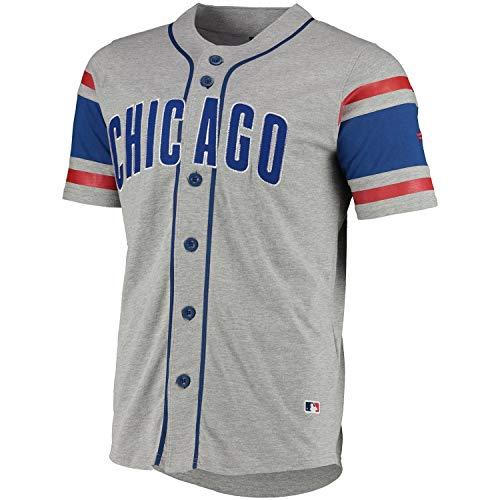 Fanatics Chicago Cubs MLB Supporters Jersey Fantrikot Grau, XL