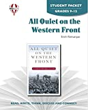 All Quiet on the Western Front - Student Packet by Novel Units