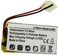 Fitbit Blaze Smartwatch Battery (Li-Pol, 3.7V, 120mAh) Replacement for Fitbit Blaze Smartwatch Battery