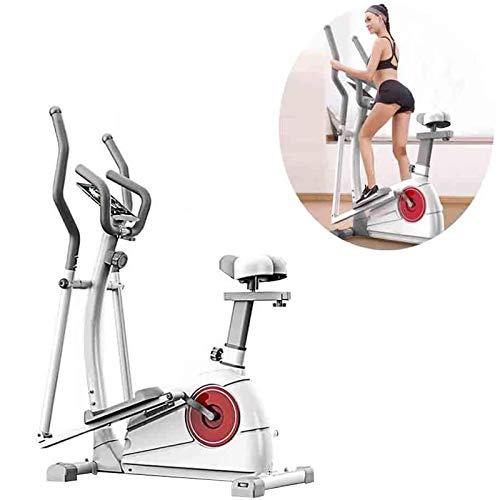 RJJBYY Macchina ellittica Mute Magnetica per Esercizio Cross Trainer Macchina Standard Falcata per Esercizio A Casa Allenamento Fitness Life