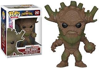 Funko Pop! Juegos: Marvel - Concurso de Campeones - King Groot Collectible Figure