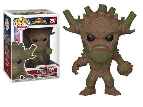 Marvel COC - Figura Funko Pop - King Groot