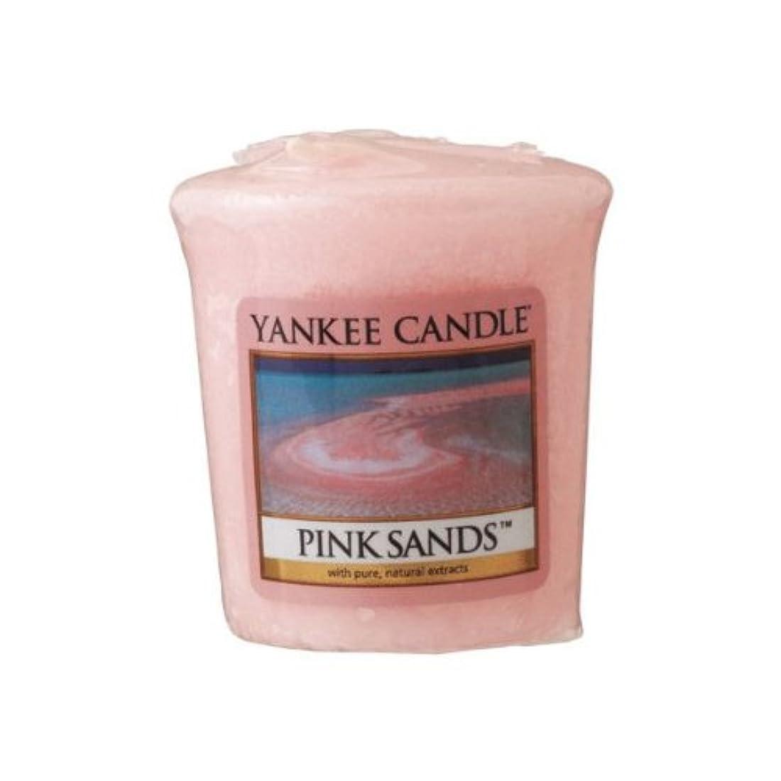 シャンプー特異な帝国主義YANKEE CANDLE(ヤンキーキャンドル) サンプラー ピンクサンド